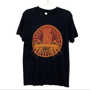 Stone Temple Pilots Black Peace Sign Graphic Tee